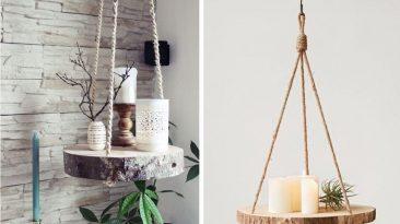 Krásně voní a skvěle vypadají: originální dekorace z dřevěných kulatin