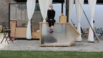Nejmenší dům na světě má pouze 1 metr čtvereční a byl vyroben v Berlíně