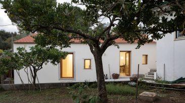 Rekonstrukcí obyčejného domu vzniklo neobyčejné moderní bydlení