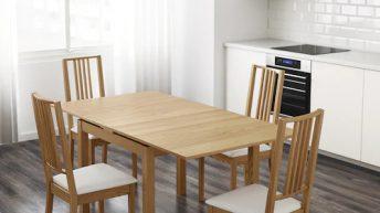Vhodný jídelní stůl posiluje soudržnost celé rodiny. Nepodceňujte jeho výběr