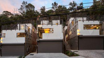 Moderní bydlení na kopcích kolem Hollywoodu