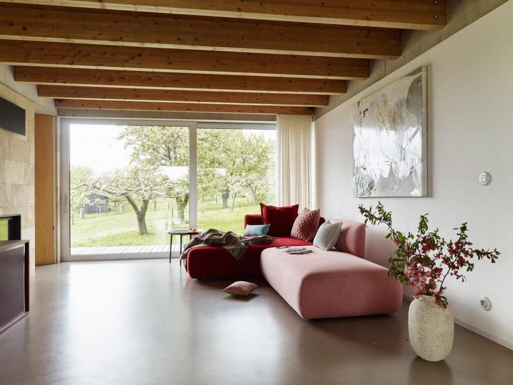 Interiér domu splňuje vysoké funkční i estetické nároky