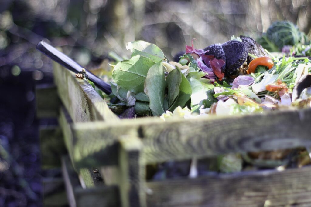 Kuchyňské zbytky jsou ideální základ pro kompost