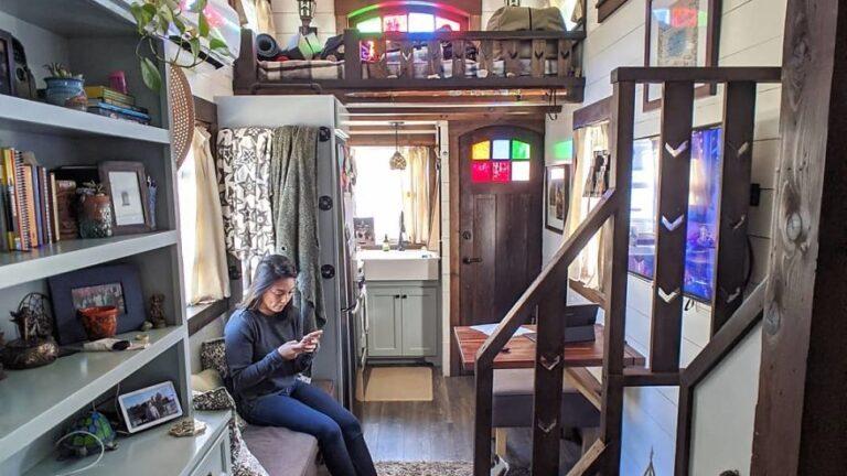 Malý domek poskytuje dostatek prostoru pro mladý pár