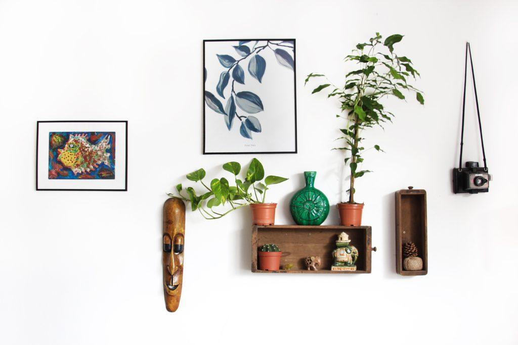 dekorace na zdi
